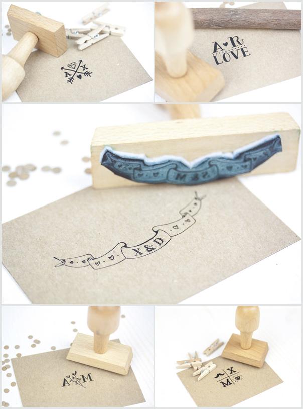 mosaico sellos tipograficos