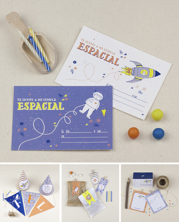 "Descargable Fiesta temática: ""Party Espacial"" by PPStudio!"
