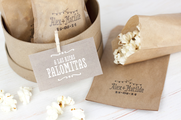 Project party blog 10 diy para usar tu sello de boda project party blog - Diy para bodas ...