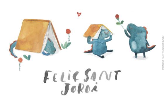 Puntos de libro descargables gratis Sant Jordi