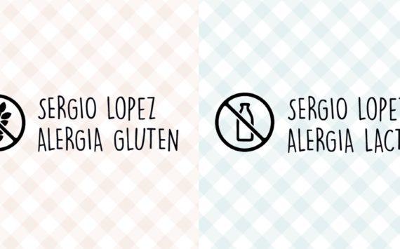 Utilizar sellos de intolerancia alimentaria como identificativo para ropa de niños alérgenos