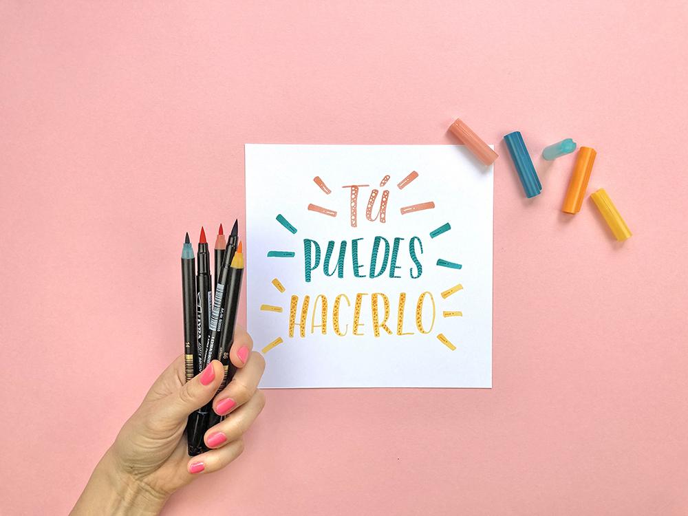 Curso lettering para niños