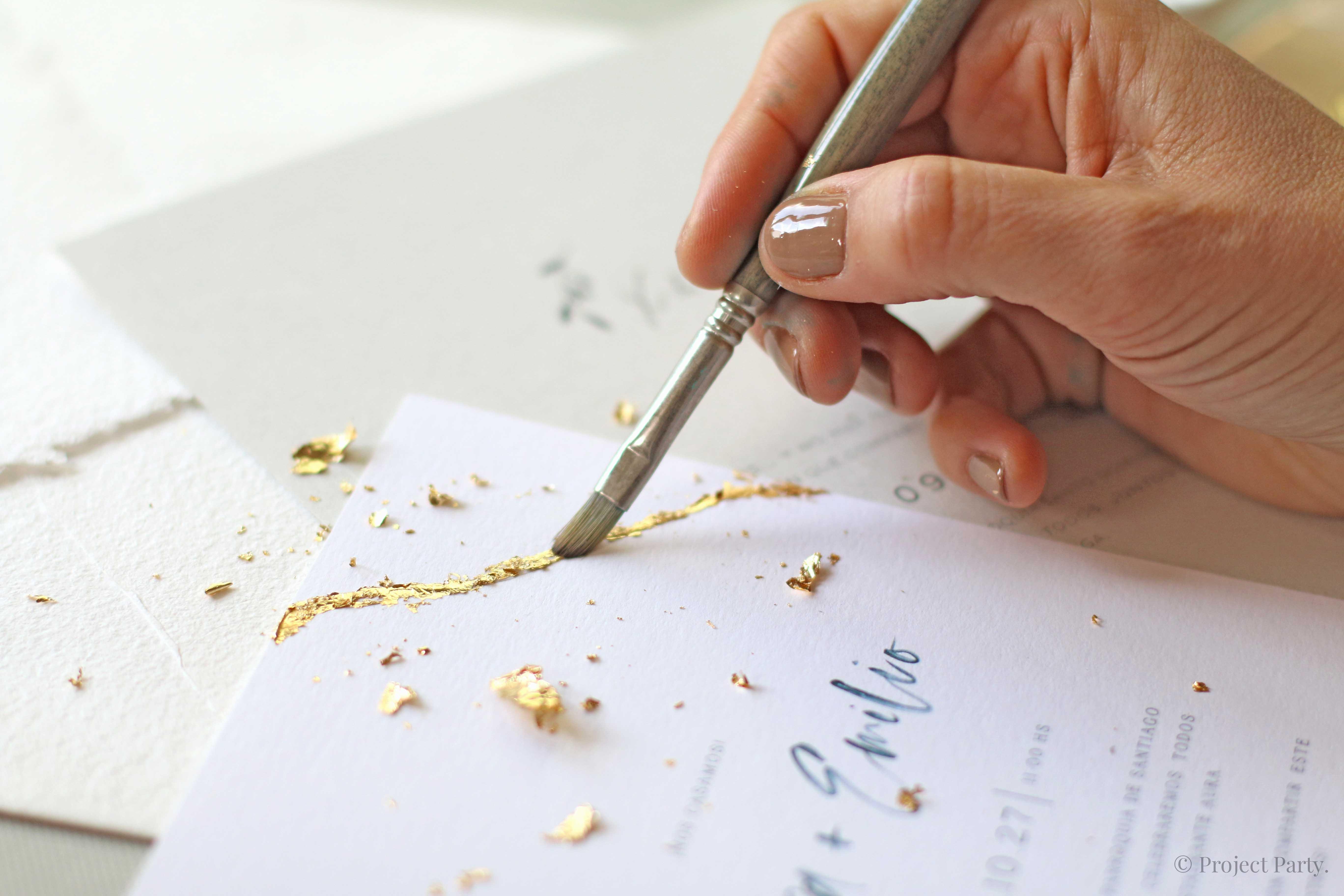 Curso Online de Invitaciones de Boda hechas a mano y su papelería
