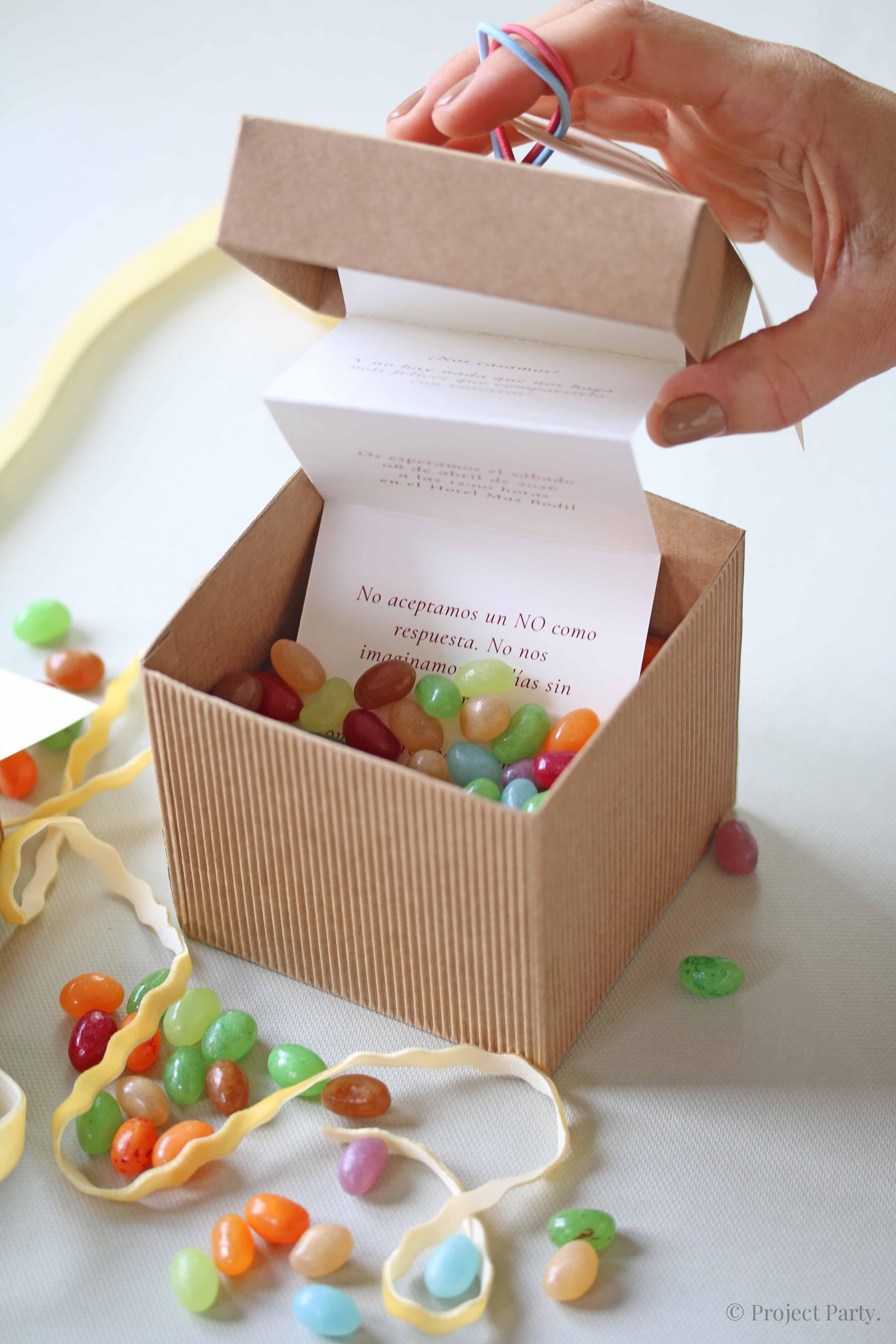Invitaciones de boda hechas a mano - invitación original