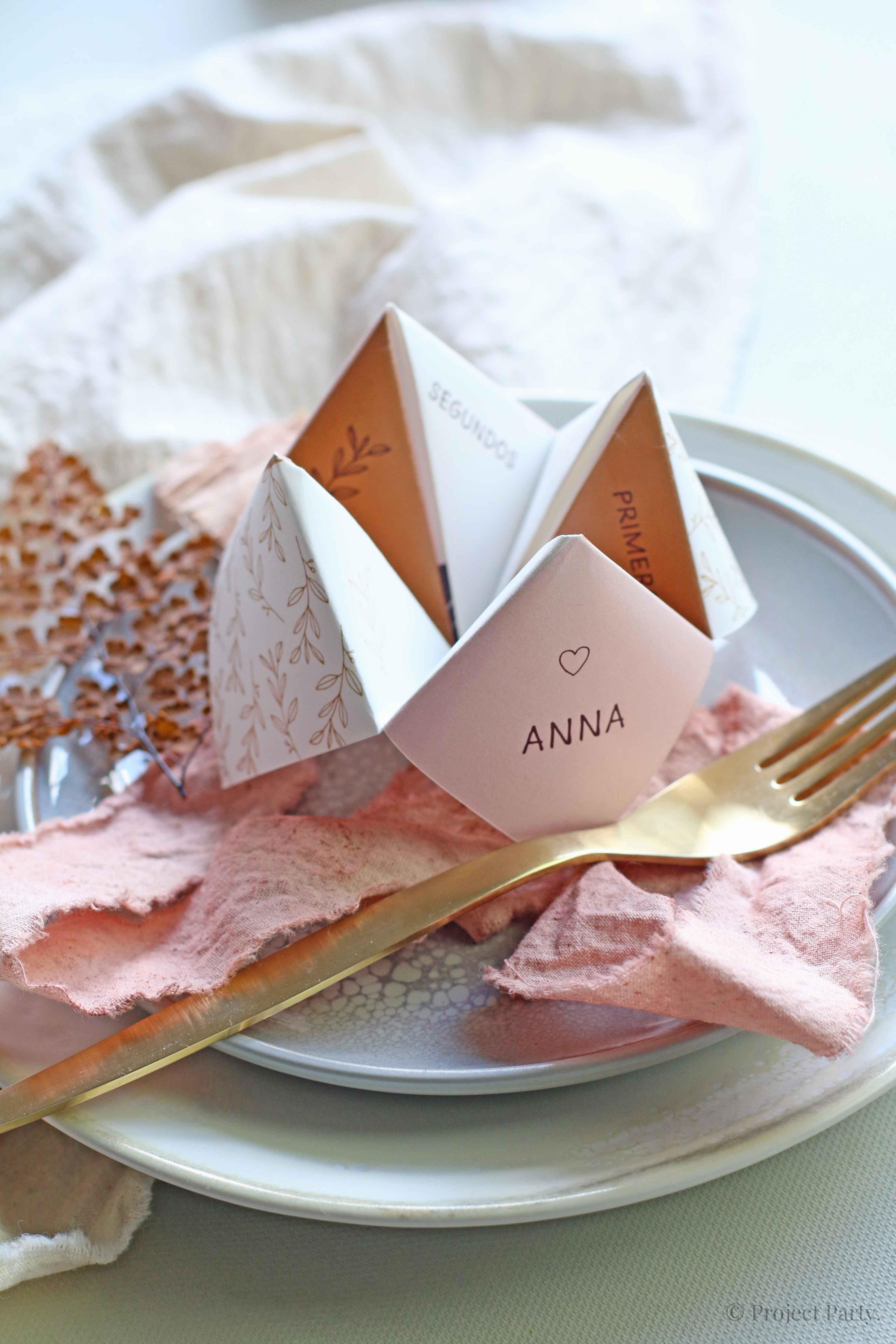 Invitaciones de boda hechas a mano - comecoco