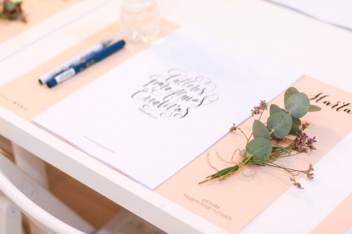 lettering barcelona curso presencial project party studio