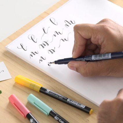 lettering rotuladores curso online almas creativas project party school