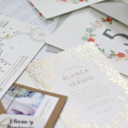 pack de muestras de invitaciones de boda