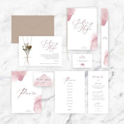 papelería completa boda