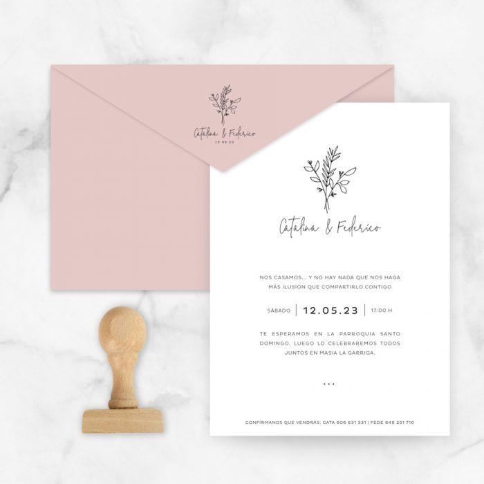 invitaciones de boda originales y elegantes
