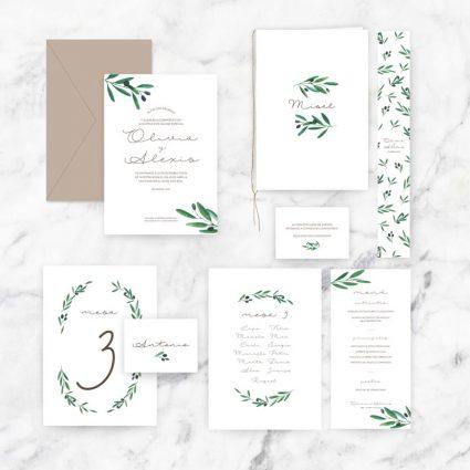 papelería completa de boda