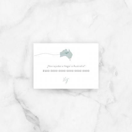 tarjeta lista boda