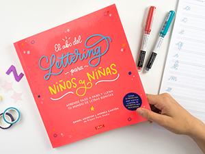 libro de lettering para niños