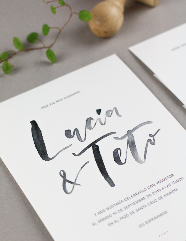 invitaciones de boda - Project Party